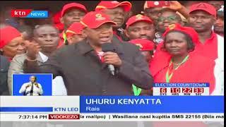 Rais Uhuru na William Ruto waendeleza kampeni za Jubilee
