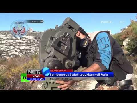 Pemberontak Suriah Menghancurkan Helikopter Rusia - NET5