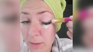 Korrekte Reinigung der Wimpern