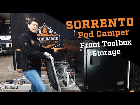 Lumberjack Sorrento Pod Camper Front Toolbox Storage