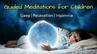 Guided Meditations for Kids to Sleep   Sleep Meditation for Children (5 in 1)   Bedtime Relaxation