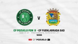 R.F.F.M. - PREFERENTE FÚTBOL FEMENINO - Grupo 1 - Jornada 7 - C.F. Pozuelo de Alarcón 2-1 C.F. Fuenlabrada S.A.D