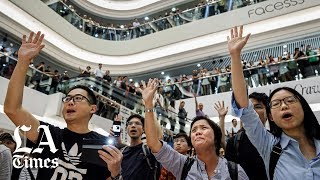 In Hong Kong's protests, a song confronts Beijing