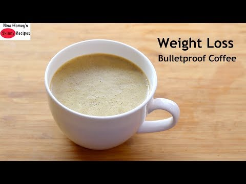 How To Make Bulletproof Coffee For Weight Loss – Ghee Coffee Recipe – Keto Coffee | Skinny Recipes