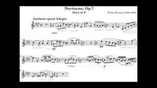 Franz Strauss Nocturno Op.7 for Horn (Audio)