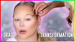 EXTREME DRAG TRANSFORMATION! ft. Envy Peru | NikkieTutorials
