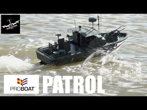 Pro Boat Alpha Patrol Boat RTR | Review and Pond Run