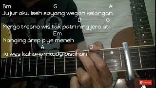Wegah Kelangan - Acoustic Version - Cover By EasyChord   Chord/kunci Gitar Mudah Pemula