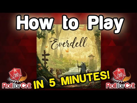 How to Play Everdell | Roll For Crit