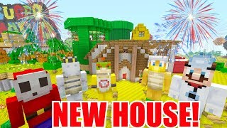 Minecraft Switch - Nintendo Fun House -BUYING A HOUSE! [AGAIN] [134]
