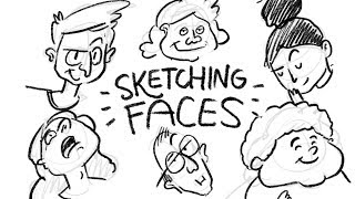Sketching Cartoon Faces With Procreate