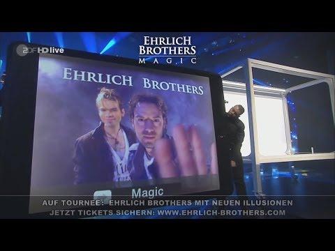 Magic iPad - Ehrlich Brothers auf Deutschland-Tour