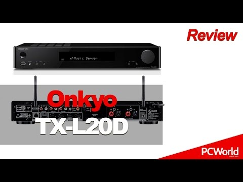Onkyo TX-L20D, receptor A/V estéreo conectado | review en español