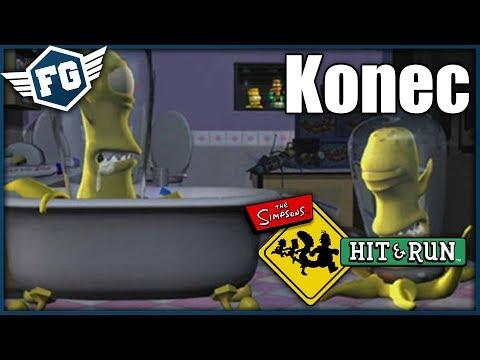 KONEC - The Simpsons Hit & Run Finále
