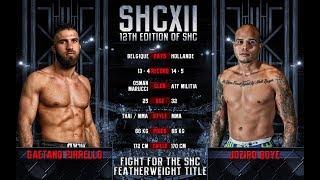 SHC XII - GAETANO PIRRELLO VS JOZIRO BOYE - MMA
