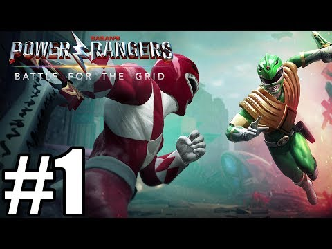 Gameplay de Power Rangers: Battle for the Grid