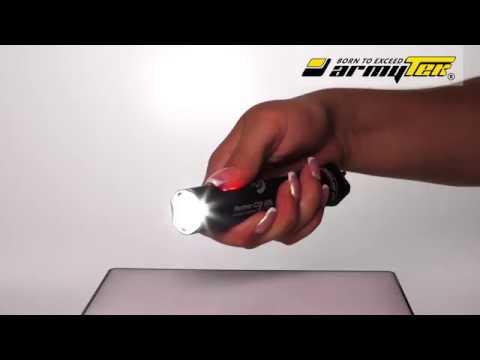 Kuinka valita Strobo valotila Armytek Partner Pro mallissa