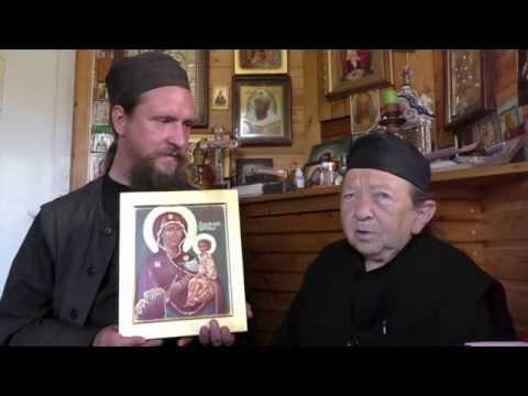 """Старец Рафаил о тайне иконы """"Дарование молитвы"""""""