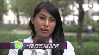 Diálogos en confianza (Familia) - Apoyos a mujeres víctimas de violencia familiar