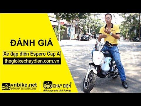 Xe đạp điện Espero Cap A