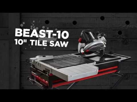 Lackmond Beast10 10 Quot The Beast Wet Tile Stone Saw W Bp