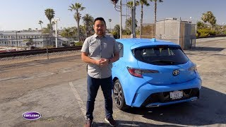 2019 Toyota Corolla Hatchback First Drive Video: Much-Needed Changes