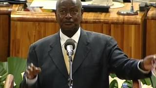 preview picture of video 'President Museveni speech at EALA (Kigali-Rwanda)- 24 April 2013'