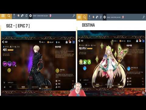 Epic 7 Reroll Mania - игровое видео смотреть онлайн на igrovoetv online