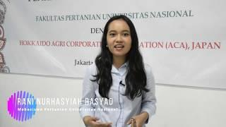 Universitas Nasional – kerjasama Pertanian dengan jepang