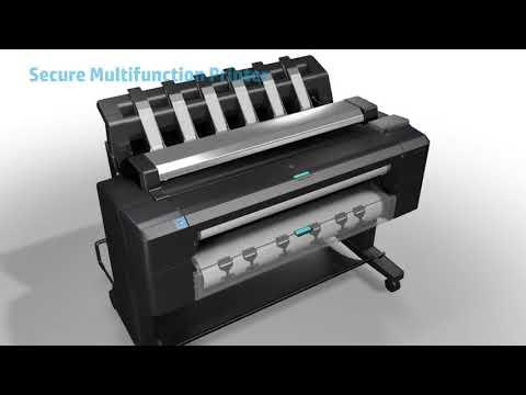 Imprime, escanea y copia con el plotter HP DesignJet T2530