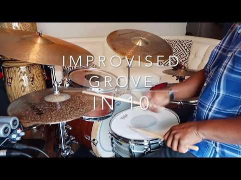 Improvised Groove In 10