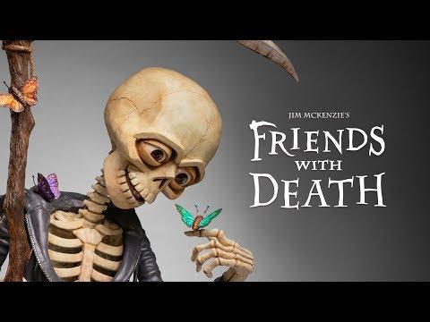 Friends With Death - Jim McKenzie  (Grim Reaper Sculpture)