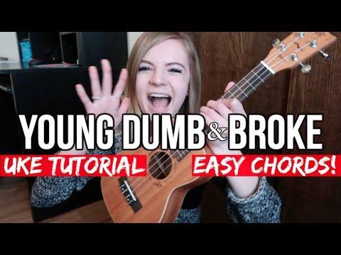 Young Dumb & Broke - Khalid | EASY UKULELE TUTORIAL