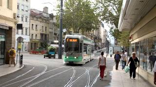 preview picture of video 'Saint-Étienne tramway line T1 (2012)'