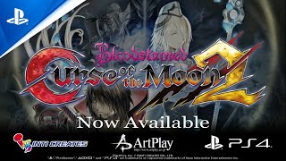 Bloodstained: Curse of the Moon 2 - Release Trailer | PS4