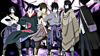 Sasuke Uchiha - All Forms (Naruto,Naruto Shippuden,Naruto The Last, Naruto Gaiden, Boruto Movie