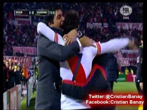 (Emocionante Relato) River 2 Guarani 0 (Relato Costa Febre) Copa Libertadores 2015 Los goles