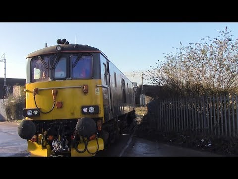 Caledonian 73969 & Colas Rail 47727 at Washwood Heath 22nd J…