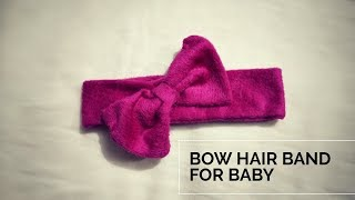 Headbands For Babies And Toddlers From Old Clothes Tutorial