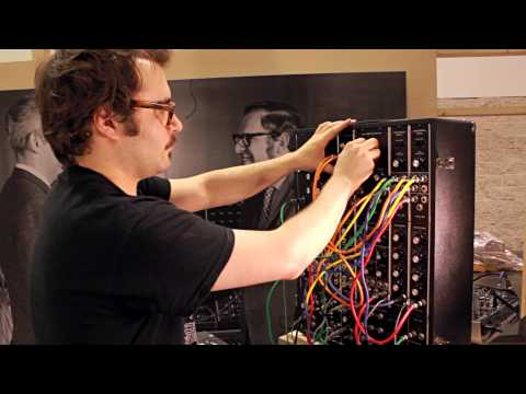 Listen To The Gnarly Churn Of $10,000 Worth Of Moog Synthesiser