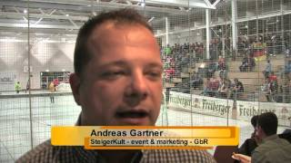 Indoor-Regio-Cup 2015 in der Sporthalle des Cotta Gymnasiums Brand-Erbisdorf