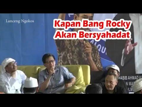 Rocky Gerung - Kapan Bang Rocky Akan Bersyahadat