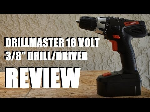 Harbor Freight DrillMaster 3/8″ 18 Volt Drill Review