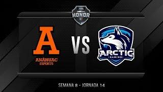 Anáhuac Esports VS ARCTIC GAMING MX | Jornada 14 | División de Honor 2019 - Apertura
