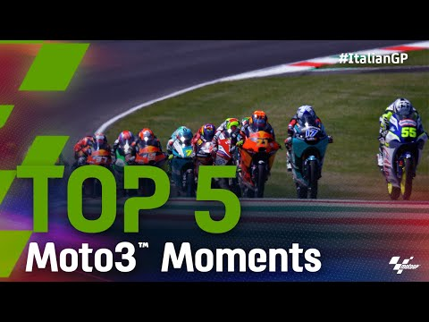 Moto3 2021 第6戦イタリア ハイライト動画