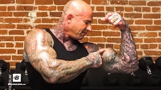 15 Minute Biceps & Triceps Workout For Bigger Arms | Jim Stoppani, Ph.D. by Bodybuilding.com
