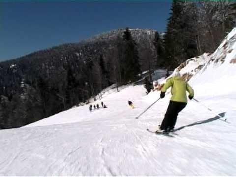 Autrans une journée de ski alpin à La Sure