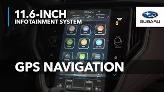 GPS Navigation | 2020 Subaru 11.6-inch Infotainment System