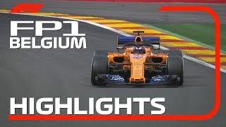 2018 Belgian Grand Prix: FP1 Highlights