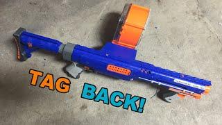 TAG BACK! - Nerf N-Strike Raider CS-35